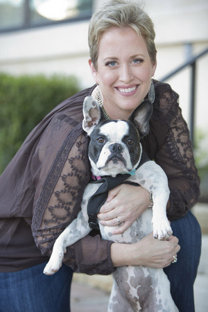 Christina Ely, Owner and Operator of Pooch Planet Mobile Grooming in Colleyville and Southlake.